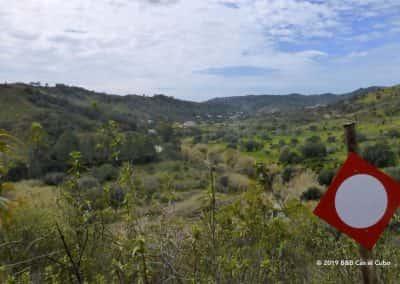 Vallei Ribeira do Alportel, jachtgebied, rivierdal