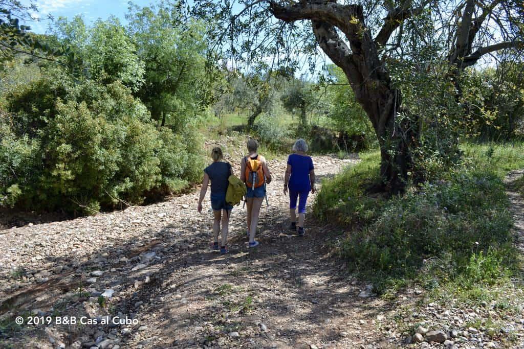 Rivier wandelroute Barrocal Algarve Tavira