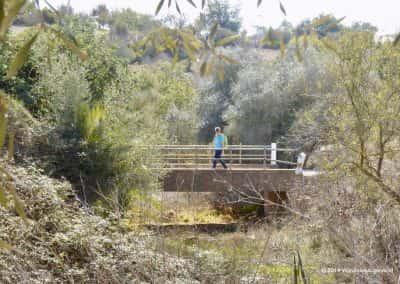 Caminho de Água, Olhão PR4, droge rivierbedding Pechão