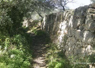 Romeinse wegen Estoi circulaire wandeling