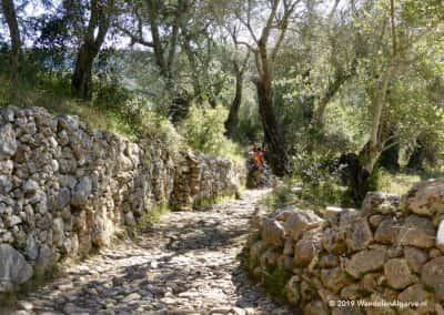 GPS Wandelroutes Loulé over historische paden