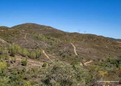 Wandelpaden in de heuvels boven Loulé (Amendoeira)