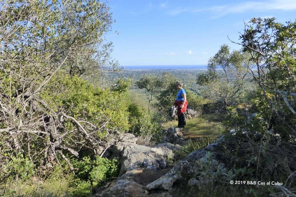 Uitzicht vanaf Cerro de Cabeça richting Moncarapacho