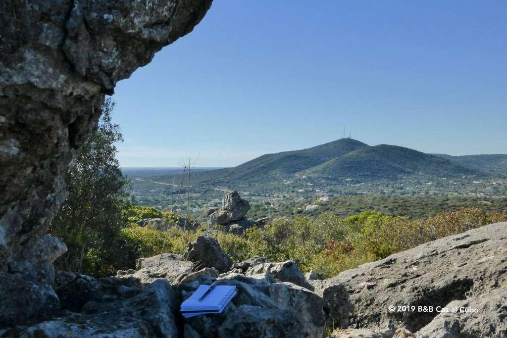 Uitzicht over Sotavento en Barlavento vanaf Cerro de Cabeça