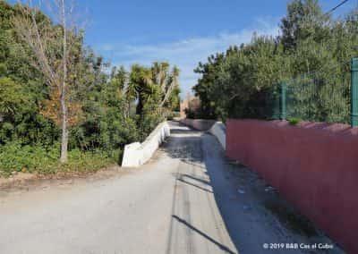 Brug naar Monte Rosa Olijfgaard Moncarapacho