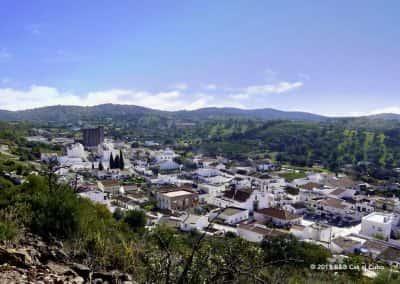 Dorpen Algarve, luchtfoto, Santa Catarina, Tavira