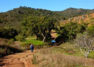 Oversteek rivier wandelroute Pero de Amigos