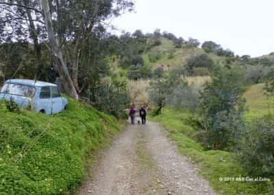 Wandeling Bemparece, richting Alportel rivier