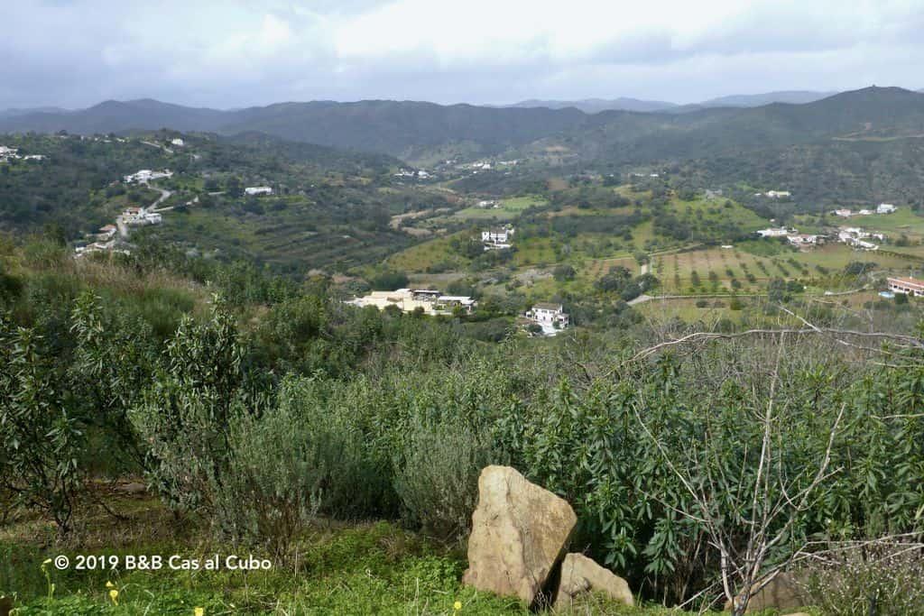 Uitzicht vanaf een heuveltop