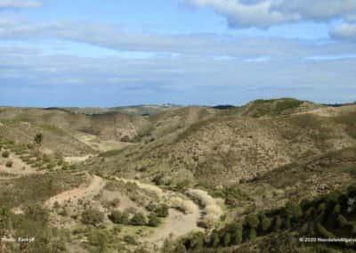 Ribeira do Beliche zonder water op wandeling CTM PR7