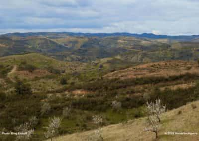 Even prachtig panorama over de heuvels rondom Cortelha op CTM PR7