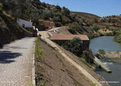Rivierpad langs Ribeira de Odeleite op CTM PR4