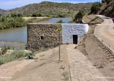 Pernadas watermolen langs de Ribeira Odeleite op CTM PR4