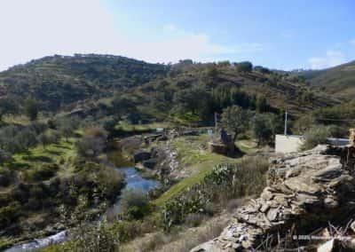Beekje in de vallei van Mealhas op percurso pedestre TAV PR7