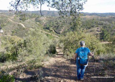 Fonte Férrea, wandelen langs steile hellingen