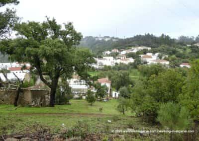 Dorpen in de Serra do Caldeirão