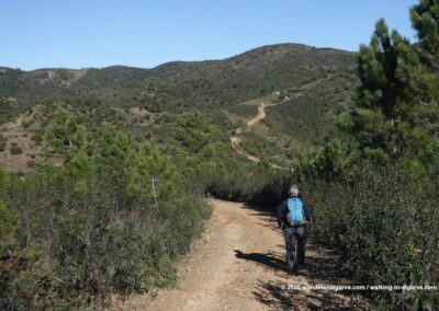 Pad door de heuvels achter São Brás de Alportel