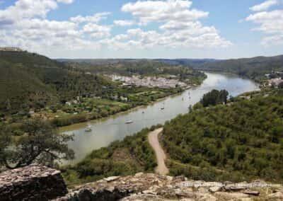 Alcoutim wandelroutes ALC PR3 - Sanlúcar aan de Spaanse kant