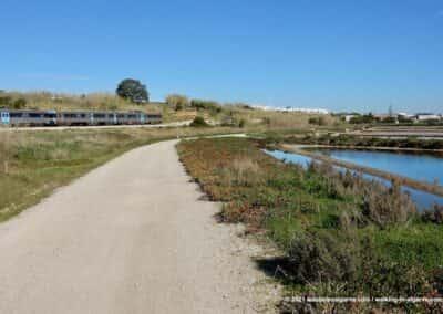 Ecovia Algarvia - Wandelroutes tussen Fuseta en Olhão - Portugal
